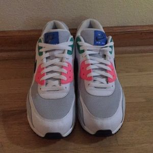 SIZE 13 NIKE AIR MAX 90 WATERMELON SHOES